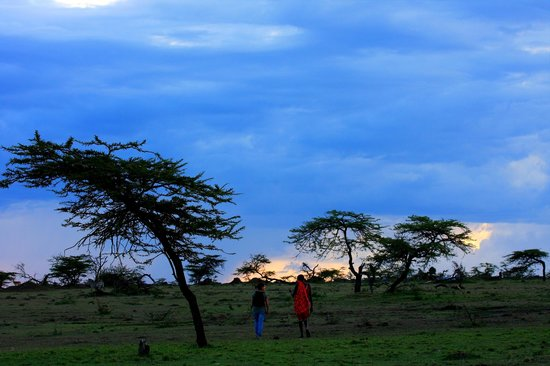 Kandili Camp: Atardecer