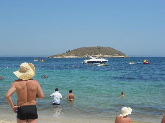 Hotel Samos : praia