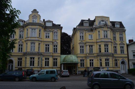 Kaiserhof: Inngangsfasade