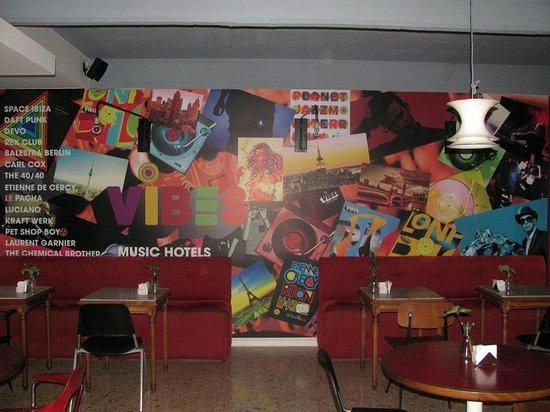 Vibes Music Hotel: Arte gráfico