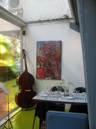 Vibes Music Hotel: Vibes y su particulat decoración