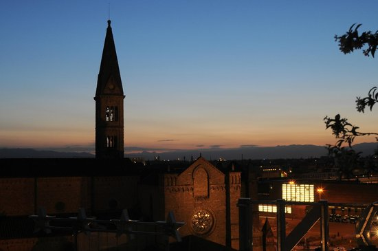 Grand Hotel Baglioni Firenze : tramonto in relax