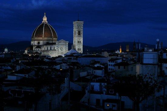 Grand Hotel Baglioni Firenze : visione dalla terrazza