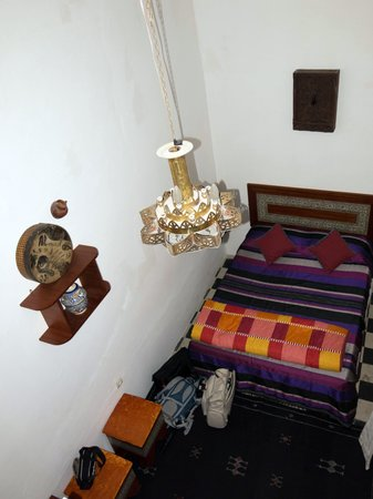 Dar Nakhla Naciria : Bedroom (has another bed on 2nd level)