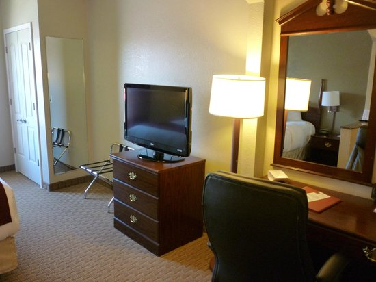Tv Swivels For Bed Or Sofa Picture Of Comfort Suites Vincennes