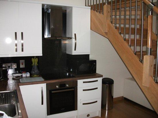Myrtle Bank Guest House : kitchenette