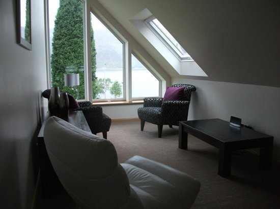 Myrtle Bank Guest House : upstairs lounge area