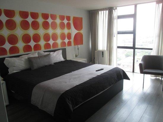 Hotel El Ejecutivo: Habitación
