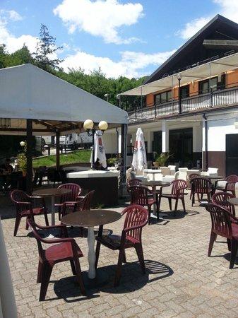 """Hotel Chalet del Lago """"La Libellula"""" : espace bar/ restaurant"""