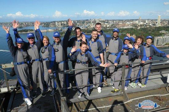BridgeClimb : Bridge climb team