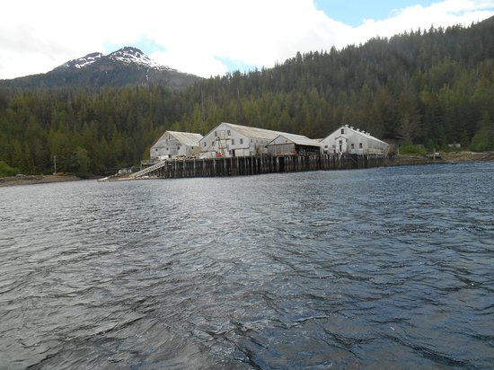 Experience Alaska Tours: Abandoned Libby's facility
