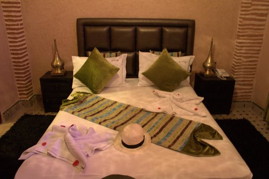 Riad & Spa Mabrouk : suite hasna