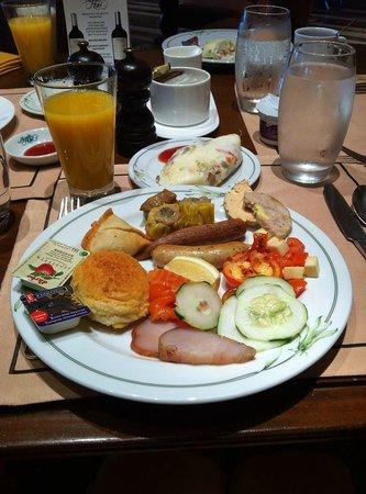 The Manila Hotel: Breakfast
