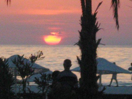 Atlantique Holiday Club: sunset