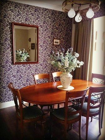 The Knowe B&B: The stunning dining room