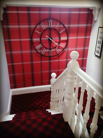 The Knowe B&B: A very original and quirky hallway!
