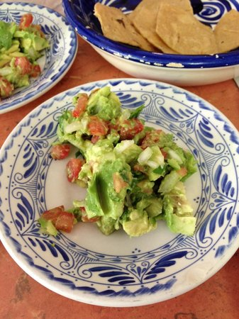 La Choza Cozumel: Guacamole