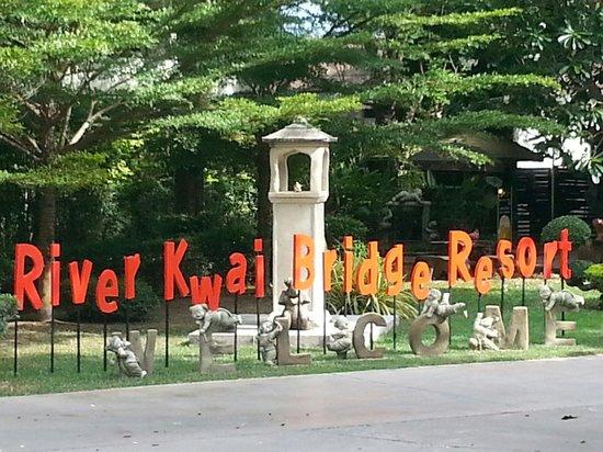 River Kwai Bridge Resort : Entrance