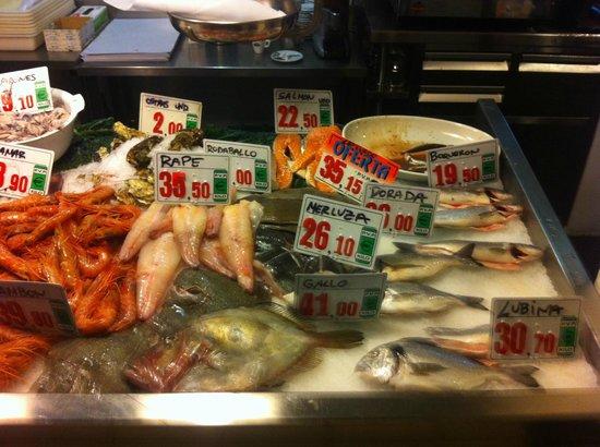 La Parada del Mar : Fish selection