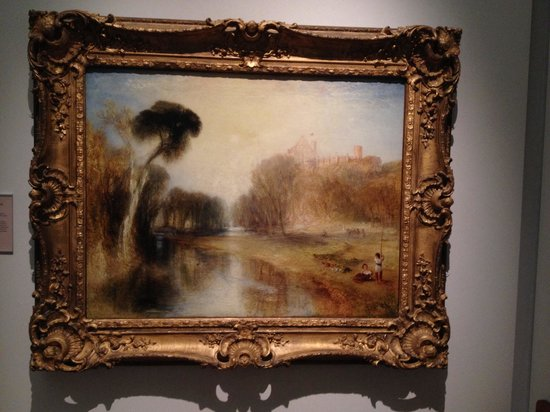 Lady Lever Art Gallery: Turner painting (see website for latest excerbishion)