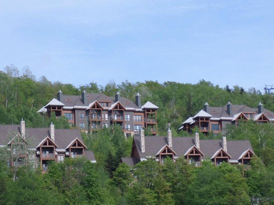 Tremblant Sunstar Condominiums: 2nd floor condo unit, on the right side middle