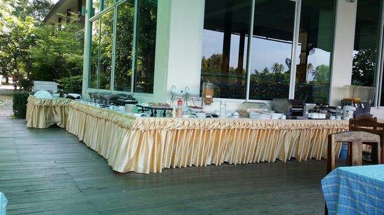 River Kwai Bridge Resort : Breakfast