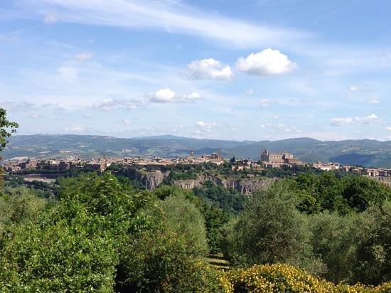 Pietra Campana: view from the breakfast table