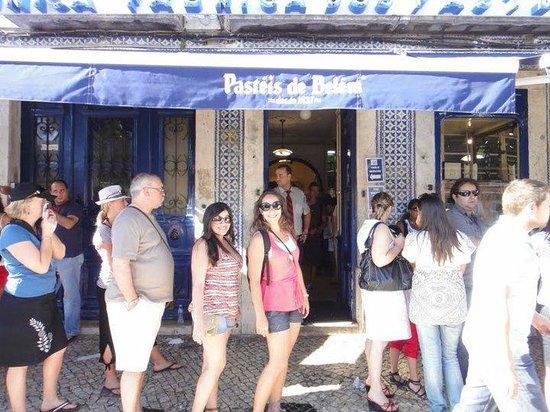 Pasteis de Belem: Na fila para os famosos pásteis