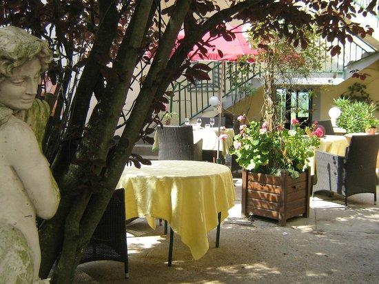 le Clos  champel : terrasse