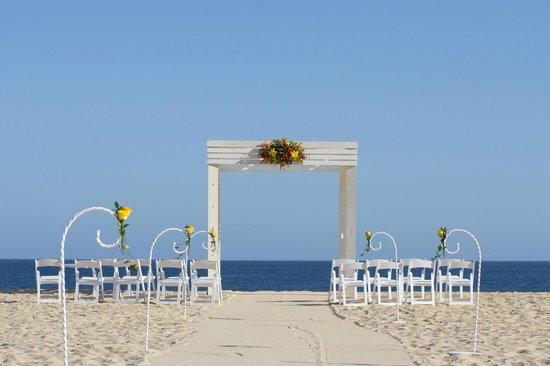 Sandos Finisterra Los Cabos: WEDDING SET-UP