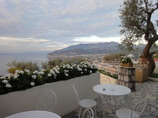 View from the Grand Hotel Aminta terrace