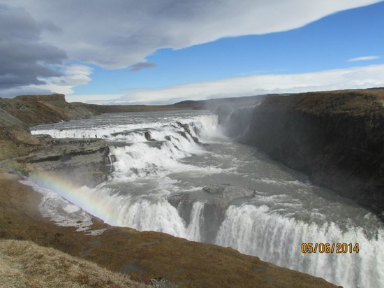 Golden Circle Route: Gullfoss