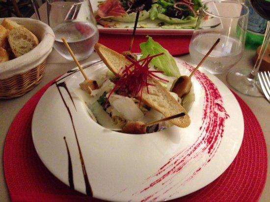 Restaurant La Voute : Caesar salade