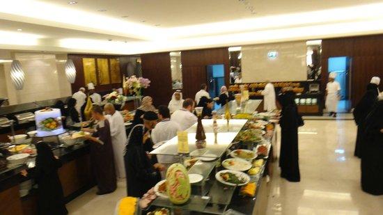 Swissotel Makkah : bfast