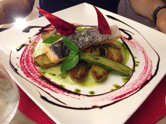 Restaurant La Voute : Saumon