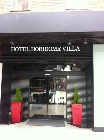 Tokyo Hotel Horidome Villa : Front of hotel