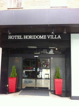 Tokyo Hotel Horidome Villa : Front of hotel