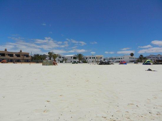 Cotillo Lagos Apartments: Vom Strand Richtung Apartments