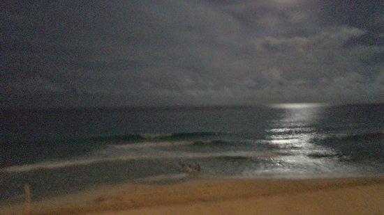 BelleVue Beach Paradise: Vista Caribe Noche
