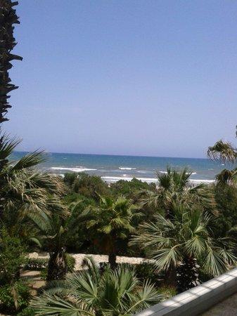 Marhaba Beach Hotel: Widok z pokoju