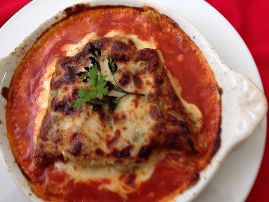 Atalaia II Pizzaria: Vegetarian lasagne