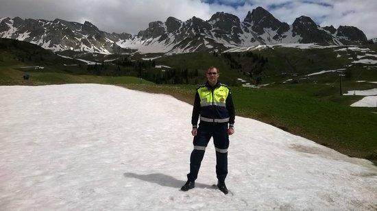 """Centro sci di fondo Passo San Pellegrino - Alochet: io in posizione """"Nevosa"""""""