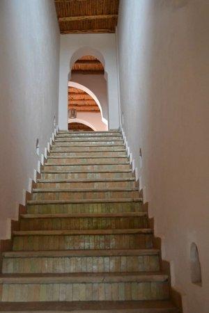 Villa Gonatouki : le scale per arrivare alla nostra stanza