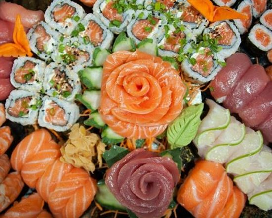 feng shui sushi bistrot fresh rolls and fresh fish cuts