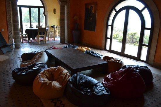 Villa Gonatouki : sala della mia meditazione, la mattina