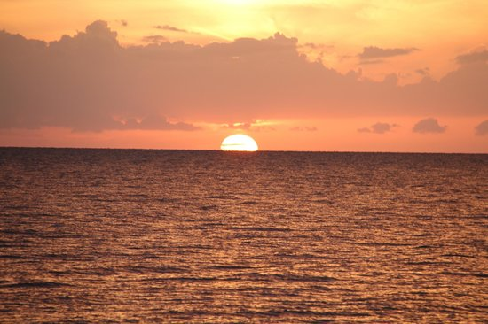 LaPlaya Beach & Golf Resort, A Noble House Resort: Sunset on the Gulf of Mexico from the Hotel