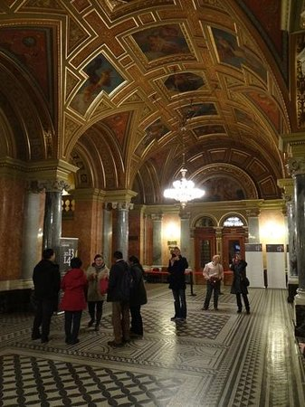 Hungarian State Opera House (Magyar Allami Operahaz) : Hall d'entrée