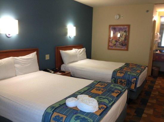 Disney's Pop Century Resort: Standard Double Room
