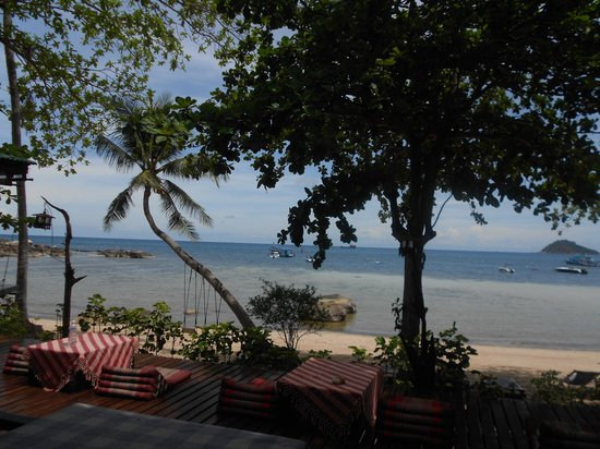 Koh Tao Royal Resort : View from resturant