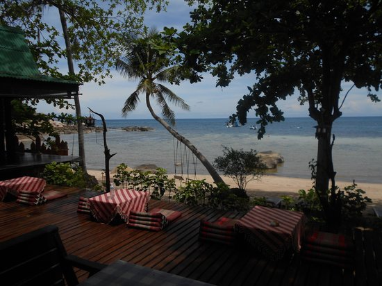 Koh Tao Royal Resort: View from resturant